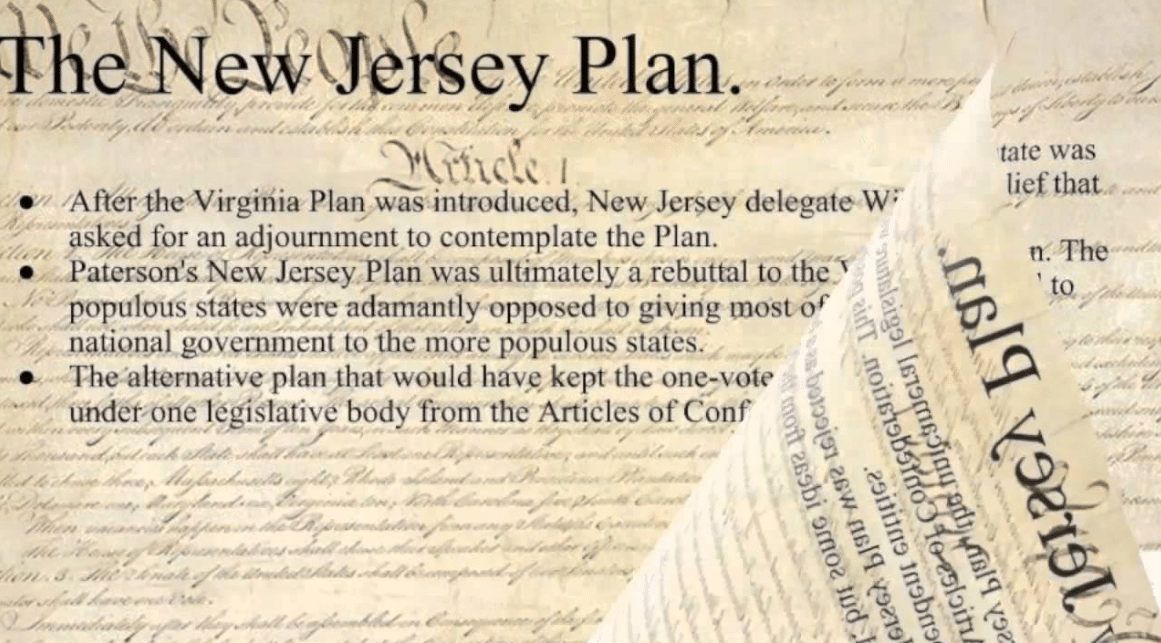 What Was The New Jersey Plan?