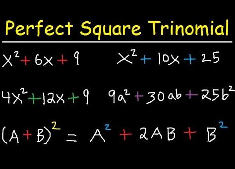 Perfect Square Trinomial Formula